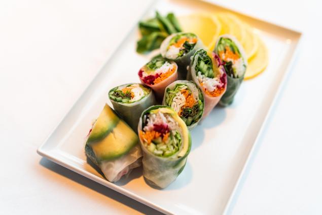 GF Rice Paper Rolls - Vegetarian