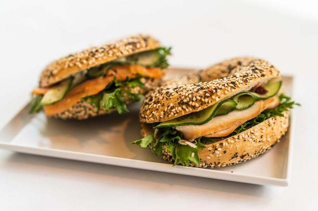 Large Filled Bagel - Lactose Friendly