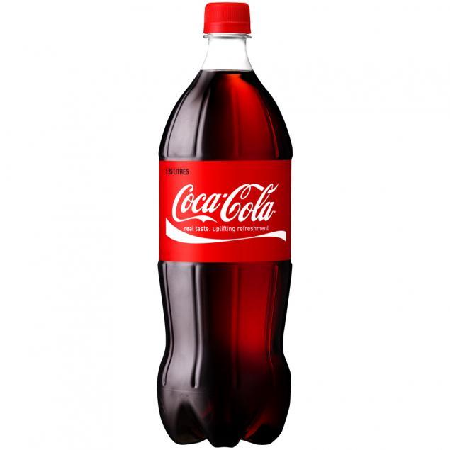 1.25 Litre Soft Drinks: Coke