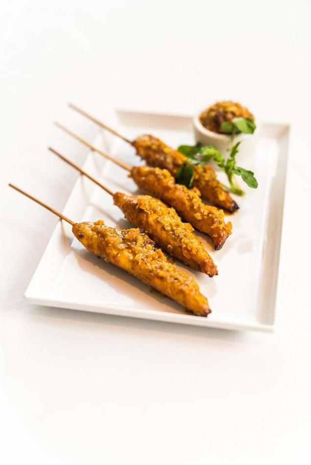 Satay Chicken Skewers