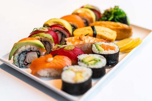 Combination Sushi - 2 pieces per serve